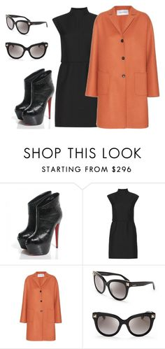 """""""Untitled #2337"""" by teodoragucunski ❤ liked on Polyvore featuring moda, Christian Louboutin e Valentino"""