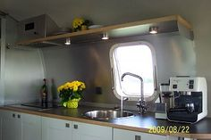 How did you customize your Airstream? - Page 4 - Airstream Forums Airstream Living, Airstream Remodel, Airstream Renovation, Airstream Interior, Vintage Airstream, Trailer Remodel, Vintage Travel Trailers, Vintage Motorhome, Vintage Campers