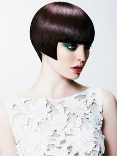 The latest collection from British hairdresser Melenie Tudor.