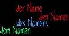 German Grammar - n-Deklination