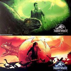 Life finds a way. Film Jurassic World, Jurassic World Fallen Kingdom, Jurassic Park Poster, Spinosaurus, Falling Kingdoms, Dinosaur Art, Tyrannosaurus Rex, Chris Pratt, Vanity Fair