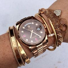 :: Rolex arm candy ::