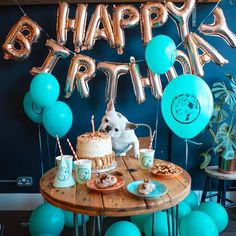 Looking for great ideas of your dog/puppy's birthday? Follow this board to get inspiration of dog birthday party. Plenty of pictures about dog birthday cake, quotes, gifts, decoration ideas, and photography. Don't forget treats! #dogbirthday #dogbirthdayideas #dogbirthdaycake Dog First Birthday, Dog Birthday Gift, Puppy Birthday Parties, Puppy Party, Birthday Treats, Animal Birthday, Birthday Ideas For Dogs, Birthday Cake Quotes, Dog Cakes