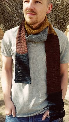 Bofur Inspired Scarf KNITTING PATTERN by critknits on Etsy