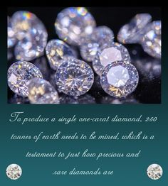 Here's another startling fact about your favorite glam stone just in case you were wondering what makes them cost you an arm and a leg. Now you know that they are worth every penny you pay to acquire it since colossal stretches of earth have been examined and mined before being found.  #3rdPost #TheDiamondBookOfFacts #LuminescenceOutside #EnchantmentWithin #KapishJewels