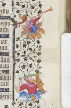 Book of Hours, MS M.919 fol. 41r - Images from Medieval and Renaissance Manuscripts - The Morgan Library & Museum