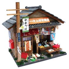 Billy handmade doll house kit Showa series Assembly kit candy shop EMS Japan #Billy