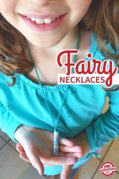 Bottled Fairy Dust Necklaces: A Tween Craft Idea that is perfect for a slumber party craft!  These are so precious, I want one!  From Kids Activities Blog.