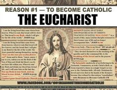 And, because The Catholic Church is The ONLY Church started by Jesus Christ Himself! He started The Catholic Church with His Apostles-