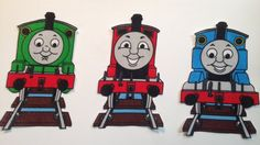 3 Vintage Iron On Appliques  Thomas The by KoopsKountryKalico