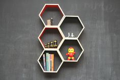As Seen on Apartment Therapy // Slate Grey by HandmadeRiot on Etsy, $150.00