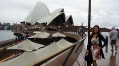 The sydney opera house when it's raining  #latepost 04232016 #travel #australia #sydney #photography #circularquay carlina #sydneyharbourbridge #sydneyoperahouse by carolinablessie http://ift.tt/1NRMbNv