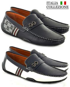 mens casual slip on loafer slipper sandal Patent leather moccasins driving shoes