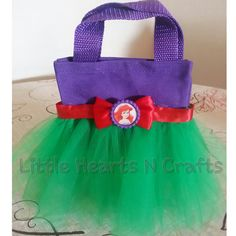 Little Mermaid Ariel Princess Inspired Tutu by LittleHeartsNCrafts, $8.50