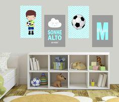 Room Themes, Shelving, Football, Home Decor, Boys Football Bedroom, Kids Soccer, Football Bedroom, Baby Room Boys, Child Room