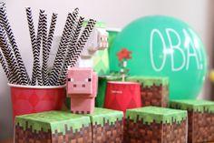 Minecraft & Parangolé http://www.parangole.com.br/categoria-produto/festa-por-tema/minecraft/