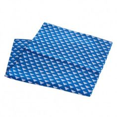 Japanese Towel – Scales (blue)