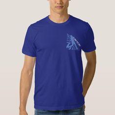 Blue Baseball Logo T T-shirts