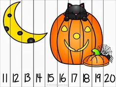 These are so cute and so hard to resist!! Your students will love putting together these fun Halloween puzzles as they practice their number sense! These would be great to put in a math center. I have differentiated them for your student's learning level. They start from 0-5, 1-10, 11-20, and counting by 10's to …