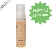 All Natural Cruelty Free Hair Mousse