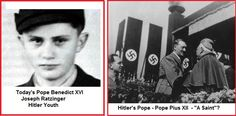 """ODD ORBIT: News Oddities around the World; Pope Benedict has acknowledged the time in his German childhood when he was forced to join the Hitler Youth, calling it a """"dark time"""" in his past."""