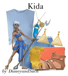 """Kida"" by disneyandsuch ❤ liked on Polyvore featuring See by Chloé, Miss Selfridge, Dee Berkley, ChloBo, Dune, Suz Somersall, Disney, disney, atlantis and WhereIsMySuperSuit"
