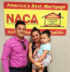 """Sr. Rivas: """"Estoy feliz por haber logrado comprar mi primera casa a haves de NACA y auydar a que muchas otras persoans que comprar su casa pro primera ber conoscar de NACA para que pueden obtener los mismos beneficios que yo obtuve en el proceso."""" Interes de 2% y no pago incial! #AmericanDream #NACAPurchase"""
