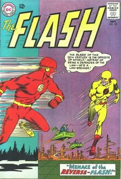 The Flash #139 (1959 series) - cover by Carmine Infantino
