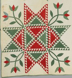 Barbara Brackman's MATERIAL CULTURE: Star Spangled Banners/Feathered Stars