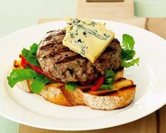Looking for a delicious and healthy Three cheese beef burger recipe? Find out all the ingredients, cooking time, techniques and tips on how to perfectly cook your favourite meal from the experts at Australian Beef Burger Recipes, Beef Recipes, Fresh Food Market, Australian Beef, Blue Cheese Recipes, Beef Burgers, Main Meals, Cooking Time, Favorite Recipes