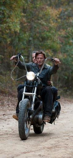 The Walking Dead. Daryl and Carol