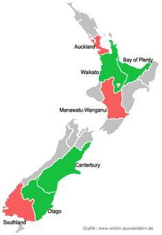 Leben und Arbeiten in Neuseeland | Wohin-Auswandern.de