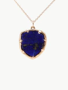 Lapis Organic Amulet by kathryn bentley for Of a Kind