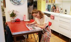 Casinha colorida: Um amor de casinha Granny Chic (anos 50)