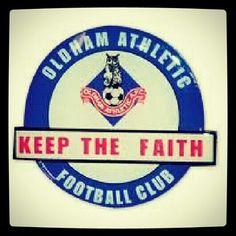 My beloved Oldham Athletic