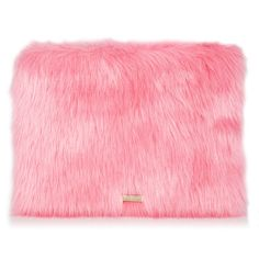 Patti Selma Fur Clutch Bag ($35) ❤ liked on Polyvore featuring bags, handbags, clutches, red handbags, fur clutches, fur purse, red purse and red clutches