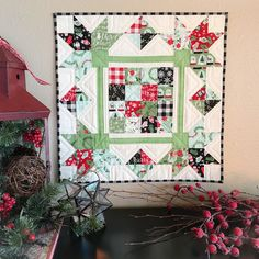 Carried Away Quilting: Picking Petals for Christmas
