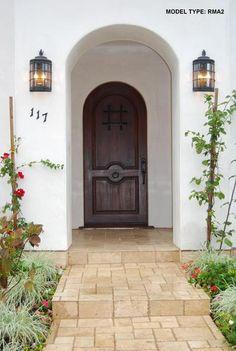 Entry, door, and lights