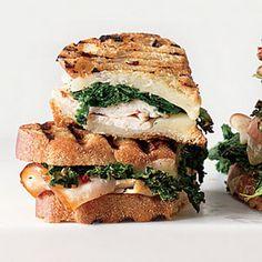 Sautéed greens, smoked turkey & provolone panini