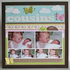 Layout by Stephanie Klauck #scrapbook #layout