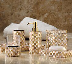 Pina Colada Bath Collection Banyo Pinterest Pina Colada - Brown mosaic bathroom accessories