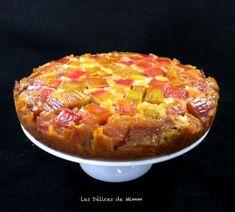 Gâteau à la rhubarbe Cake Recipes, Dessert Recipes, Quiche Lorraine, Beignets, Biscuits, Coco, Deserts, Brunch, Food And Drink