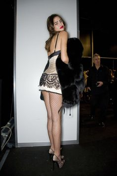 2000s Fashion, Runway Fashion, High Fashion, Fashion Outfits, Womens Fashion, Milan Fashion, Bianca Balti, Mode Streetwear, Looks Cool