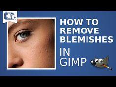 Portrait in GIMP 2.8 Part 1 Skin - YouTube