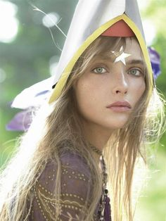 "Italia Vogue Aug.06 Snejana Onopka ""Neverland"" by Steven Meisel"