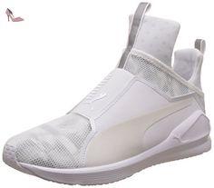 Puma Fierce Swan Wn's, Chaussures de Fitness Femme, Blanc (Puma White-puma White 02), 35.5 EU - Chaussures puma (*Partner-Link)