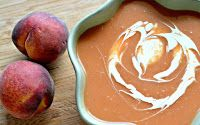 Chilled Peach and Apricot Soup