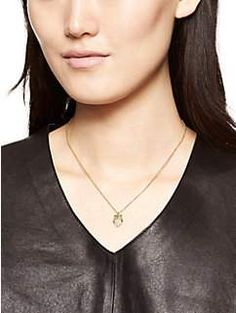 things we love owl necklace by kate spade new york