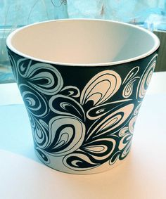 Decorated with an original Sharpie Art design by Dawn using Sharpie Permanent Marker. Sealed and protected with a clear, matt finish acrylic top coat to prevent scratching.