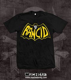 Check out the deal on Rancid Skele-Tim Bat T-Shirt at machetemfg.com